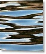 Water Abstract Okanagan Lake Metal Print