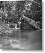 Water And Lighty Metal Print