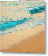 Water And Sand Metal Print