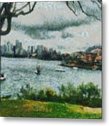 Water And Scenery Metal Print