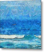 Water And Sky Metal Print