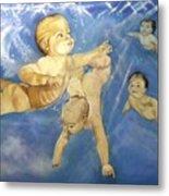 Water Babies Metal Print
