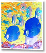 Water Boy 3 Metal Print