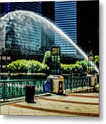 Water Canon In Color Metal Print