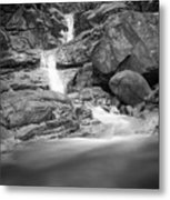 Water Cascade Metal Print