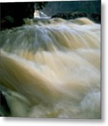Water Coming Right At You Metal Print