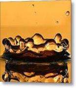 Water Crown Metal Print