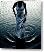Water Dress Metal Print