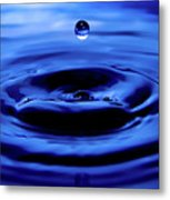 Water Drop Metal Print by Eric Ferrar