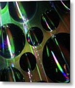 Water Droplets 1 Metal Print