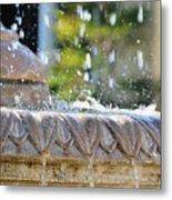 Water Drops. Metal Print