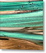 Water Edge 3 Metal Print