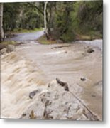 Water Flowing In The North Fork Metal Print