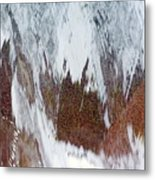 Water Fountain Abstract #34 Metal Print