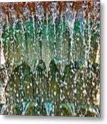 Water Fountain Bright Charleston Metal Print by Lori Kesten