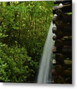 Water From The Flume Metal Print