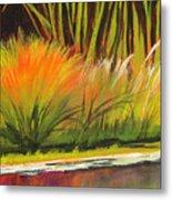 Water Garden Landscape 5 Metal Print
