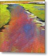 Water Garden Landscape 6 Metal Print