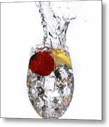 Water Glass2 Metal Print