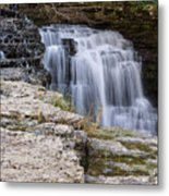 Water In Motion Metal Print