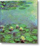 Water Lilies 1917 6 Metal Print