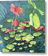 Water Lillies 1 Metal Print