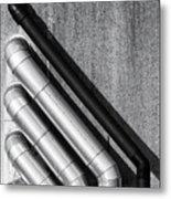 Water Pipes Metal Print