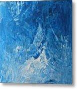 Water Planet Surface Metal Print