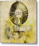 Water-pumping Windmill Metal Print