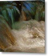 Water Rush Metal Print