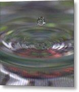 Water Sculpture Green Series 2 Metal Print