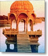 Water Shrine Metal Print