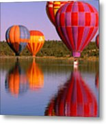 Water Skippers Metal Print
