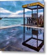 Water Taxi Metal Print