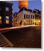 Water Tower Lauwerhof In Utrecht 25 Metal Print