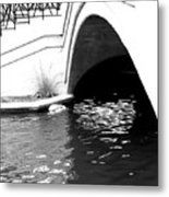 Water Under The Bridge Metal Print