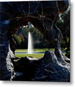 Water View Metal Print