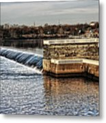 Water Works Gazebo Metal Print