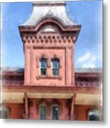 Waterbury Vermont Train Station Metal Print