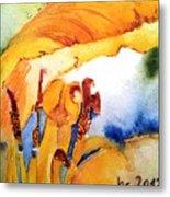 Watercolor .... Tulip Interiors Metal Print