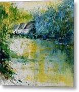 Watercolor  011108 Metal Print