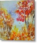 Watercolor 011121 Metal Print