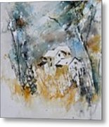 Watercolor 015060 Metal Print