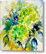 Watercolor 017050 Metal Print