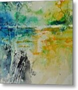 Watercolor 018080 Metal Print