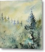 Watercolor  020307 Metal Print
