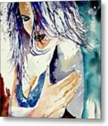 Watercolor  050308 Metal Print