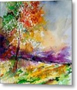 Watercolor  100507 Metal Print