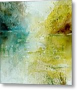 Watercolor  111207 Metal Print