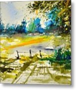 Watercolor 112040 Metal Print